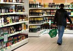 Объемы продаж алкогольных напитков в Омской области упали на 21%