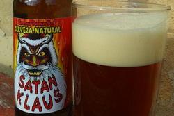 Испанские пивовары подготовили к праздниками пиво Satan Klaus
