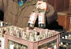 Правительство Оренбургской области принимает меры по борьбе с теневым алкогольным рынком