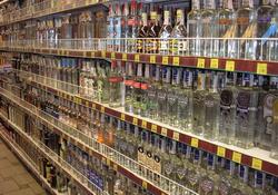 За январь-ноябрь 2013 года объемы розничной продажи водки и ЛВИ в Удмуртии упали на 34%