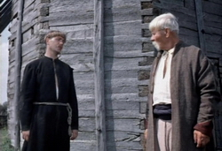 В новой экранизации повести Н. В. Гоголя «Вий» рекламируется водка?