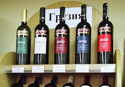 За январь-апрель 2014 года Грузия экспортировала 18,96 млн бутылок вина