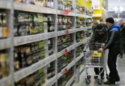 В Краснодарском крае снизились объемы выпуска водки и коньяков