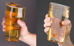 Британцы предлагают пить пиво из половинки бокала