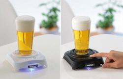 Создан прибор, позволяющий взбить пену в стакане пива