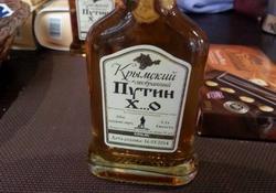 Одесса - коньяк, посвященный Путину