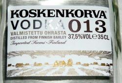 Финский парламент дал согласие на продажу завода, производящего водку Koskenkorva