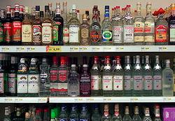 По итогам января-октября 2014 года в Украине было выпущено на 0,3% меньше водки