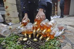 В Великобритании было вылито в канализацию 18 тысяч бутылок вина