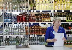 Объемы продаж водки в РФ за январь 2015 года сократились на 7,4%