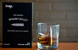 Креативное агентство SipDark предложило охлаждать виски пулями